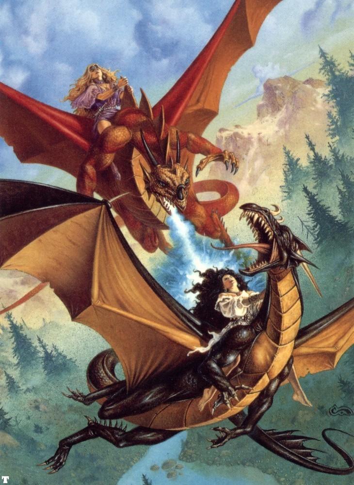 Red Dragon Vs Gold Dragon